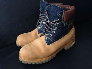 LEGIT TIMBERLAND BOOTS LIMITED  edition size 9-10