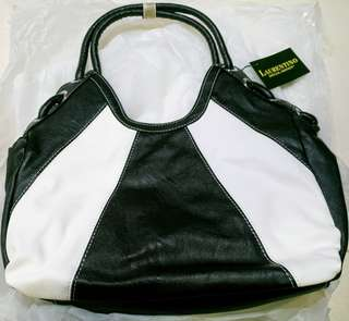 Brand New Laurentino Special Edition Handbag Genuine Leather