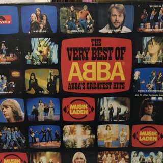 Abba greatest hits 2 vinyl records