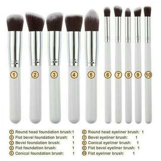 Brush set 10pcs