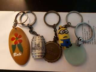 Giving away Keychains