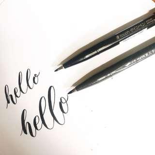 Pentel Sign Brush Pen - Medium