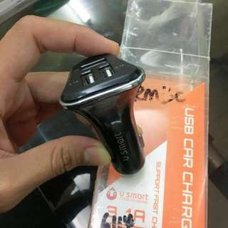 USB Car Charger - Brand 'U Smart'
