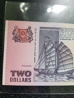 Solid 111111 Ship Series Purple paper banknote by