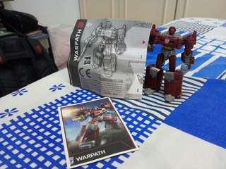Transformers Generations Combiner Wars Legends Class Warpath