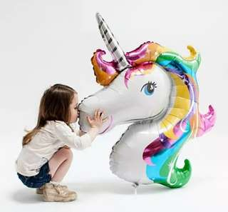 Unicorn balloon party event