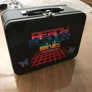 Authentic Ready Player One Movie Merchandise - Metal Carry Case