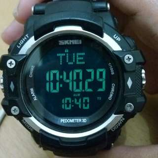 Jam Tangan Sport Pedometer Heart Rate SKMEI