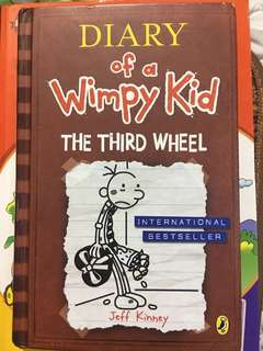 Good condition used book wimpy kid