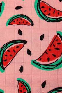 BN unrolled Tula blanket one in a melon