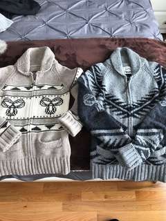 Wool-knitted TNA sweaters