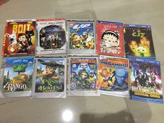 DVD Kartun, HSM, CJ7