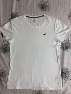 Original Hollister Basic White Tshirt