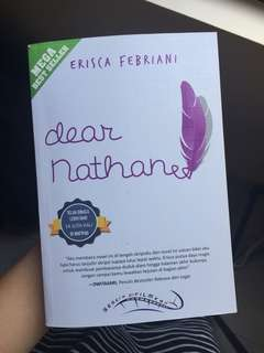 "Novel ""dear nathan"""