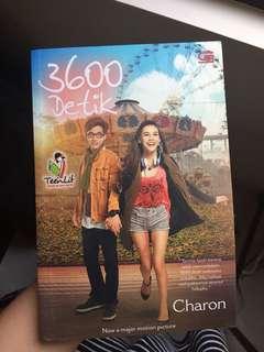 """Novel """"3600 detik"""""""