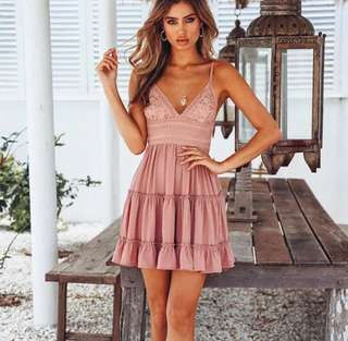Tulle Beach Dress in 2 colours