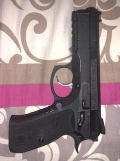 KJ Works CZ-75 SP-01 AIRSOFT GBB Pistol