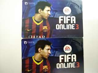 Fifa Online 3 ezlink sticker 2 for $1