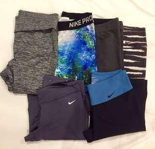 Nike leggings (Php750 each)