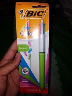 BIC 4 Colors Fashion 1ct