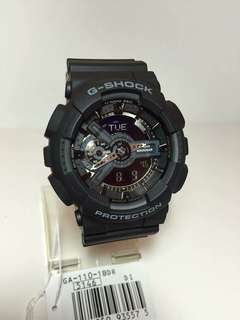 GSHOCK ALL BLACK WATCH