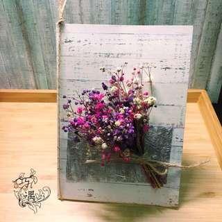 🚚 乾燥大型花卡-粉紫款