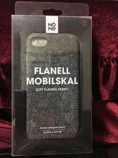 毛絨布Iphone 7手機殻phone case