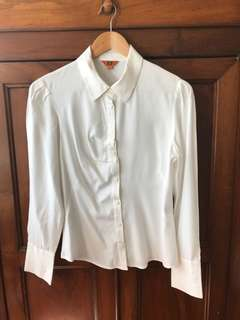 CUE business shirt size 8