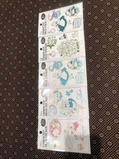 正品清貨大減價 套裝系列貼紙迪士尼