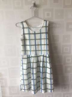 BN Grid dress with unique fabric