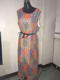 Plus Size Summer Dress - from BKK (Pre-loved)