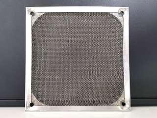 12cm Fan Aluminum Dustproof Cover Dust Filter for PC Cooling Chassis Fan Grill Guard