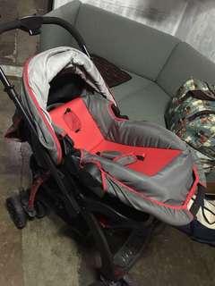 BABY 1st stroller & baby basket/ rocker