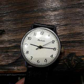 Vintage USSR Russian Watch Raketa Manual Wind