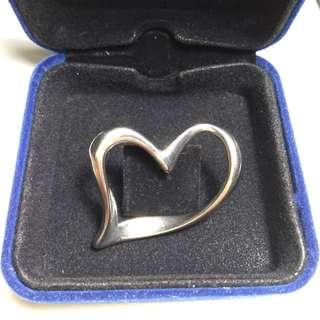 Korean silver Heart pendant