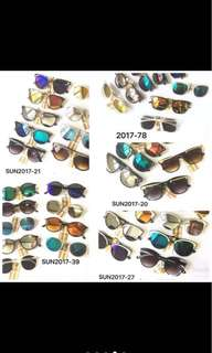 BATCH 1 SUMMER SUNGLASSES UNISEX (PRE-ORDER)