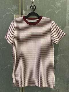 Uniqlo Stripes Shirt (Slim Fit)