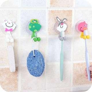 Toothbrush hanger
