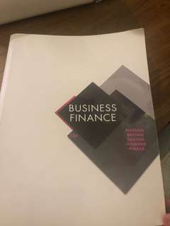 Business Finance Textbook