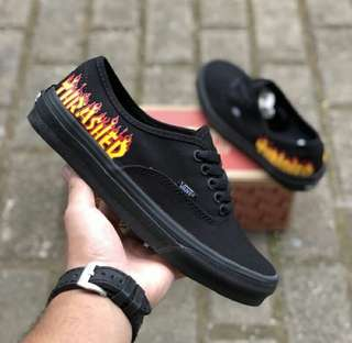 "Vans Authentic x Thrasher ""Black"""