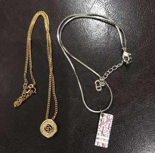 Dior Necklaces (Buy 1 free 1)