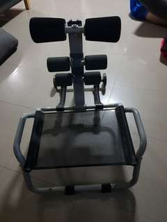 Abdominal muscle equipment