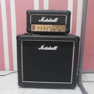 Marshall DSL1 head & Marshall cabinet MX112