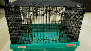 Cage (suitable for hamster and rabbit)