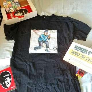 林海峰 的士夠格 Boxset x Van Tee(size:L),扭計骰,poster, 卡片