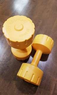 Pre-love Body sculpture Weights/dumbells 4kg / 8.8lbs