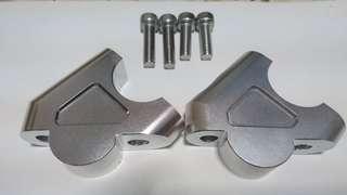 Handle bar handlebar riser risers BMW R1200GS LC liquid cool