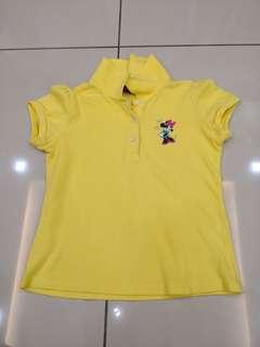 Disney Yellow Shirt (6-7t)