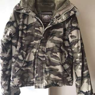 TNA winter coat - size large ( fits small though)