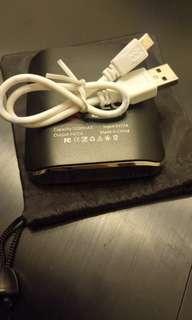 Portable mobile charger, power bank 5200mAh